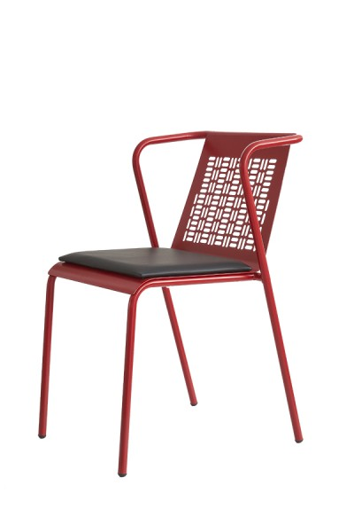 Metal chair Eiko/V