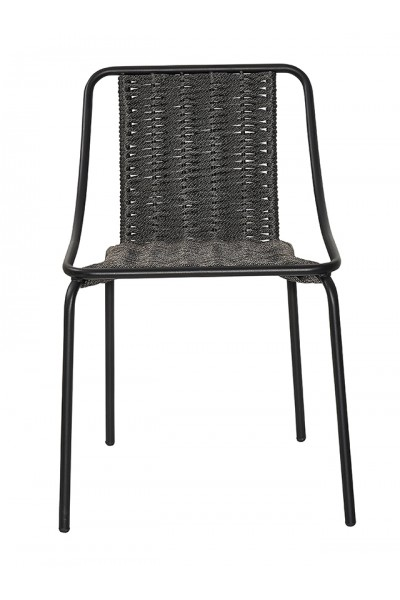 Metal chair Oyster