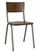 Metal chair School