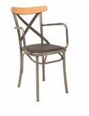 Metal chair Antique/P-M