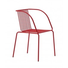 Metal chair Urania/P
