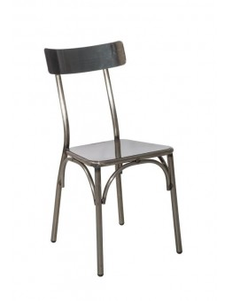 Metal chair Cappuccino