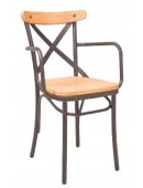 Metal chair Antique/P-MW