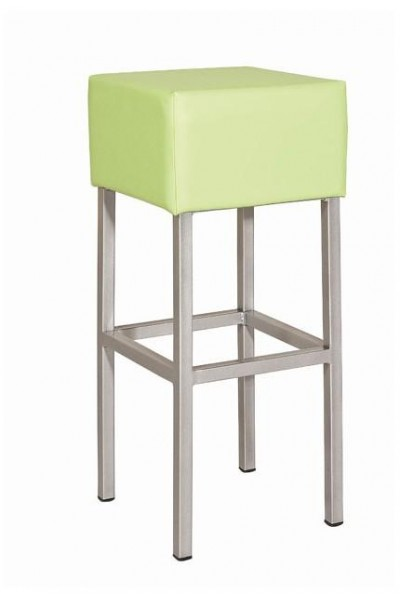 Metal bar stool Kubic