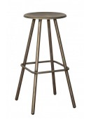 Metal bar chair Rond